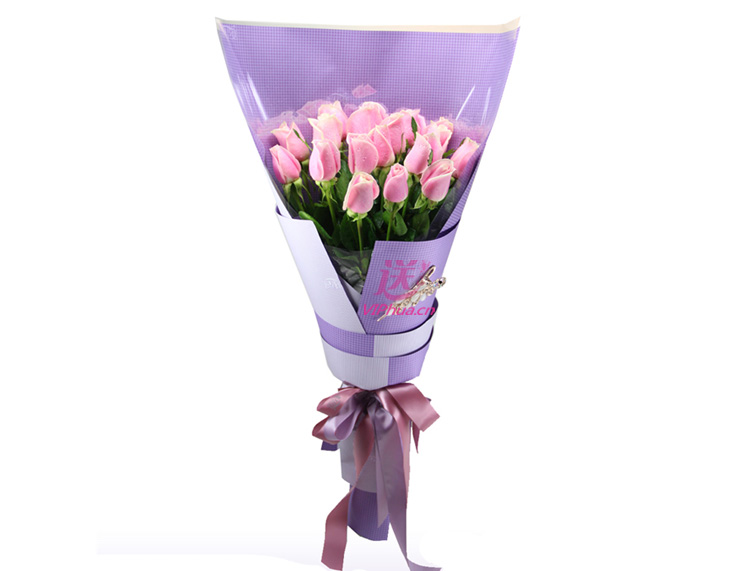 青春飞扬—快送鲜花网|粉玫瑰|全国配送送花|网上订花|送朋友|送爱人|网上订购鲜花