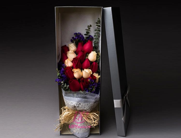 爱的期待—快送鲜花网|情人节送花礼盒|玫瑰礼盒|同城鲜花订购|情人节鲜花预定|鲜花快捷|圣诞节送花