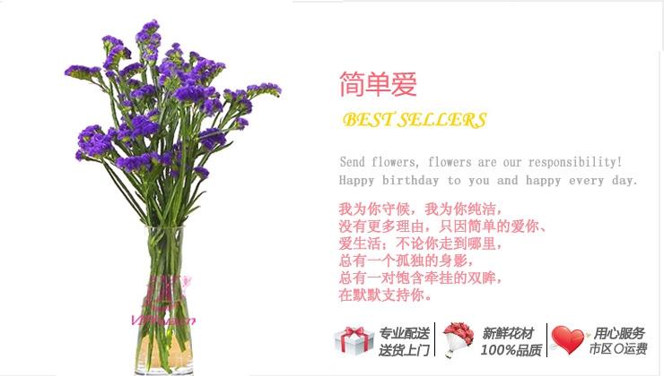 简单爱—快送鲜花网|瓶插花|花瓶插花订购|插花|异地订花|送鲜花|买鲜花|网上订花