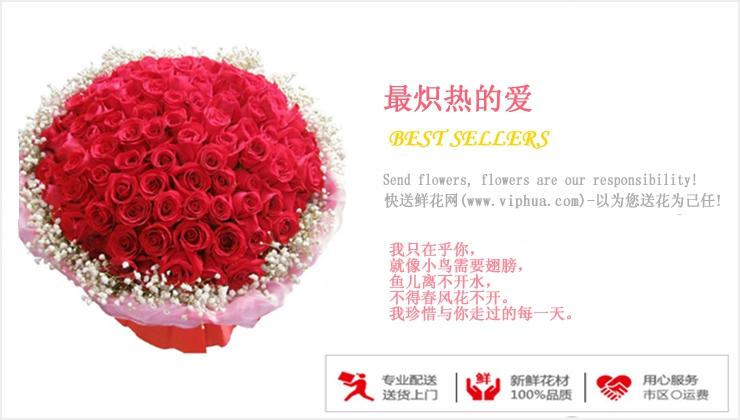 最炽热的爱—快送鲜花网|情人节鲜花速递|异地订花|同城快递鲜花|网上订鲜花|节日鲜花