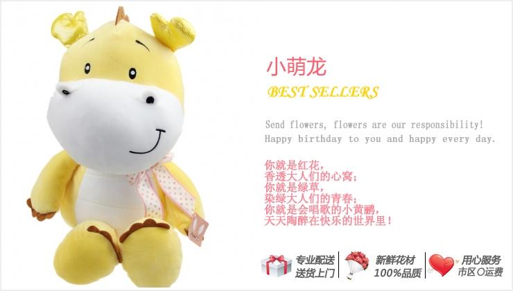 小萌龙—快送鲜花网 个性礼品推荐 礼物网 生日送什么礼物好 创意礼品网站