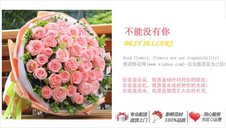 不能没有你—快送鲜花网|延安鲜花店|送汉中鲜花|榆林市订花|网上给外地朋友订购鲜花
