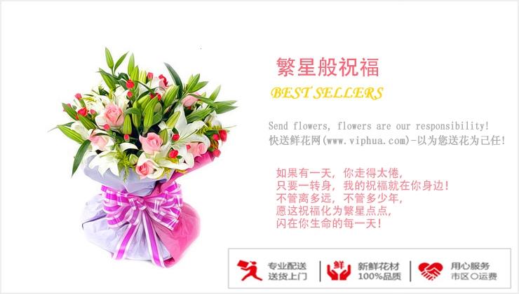繁星般祝福—快送鲜花网|常州送花|网上订花|鲜花预定|给常州的女友怎么送花